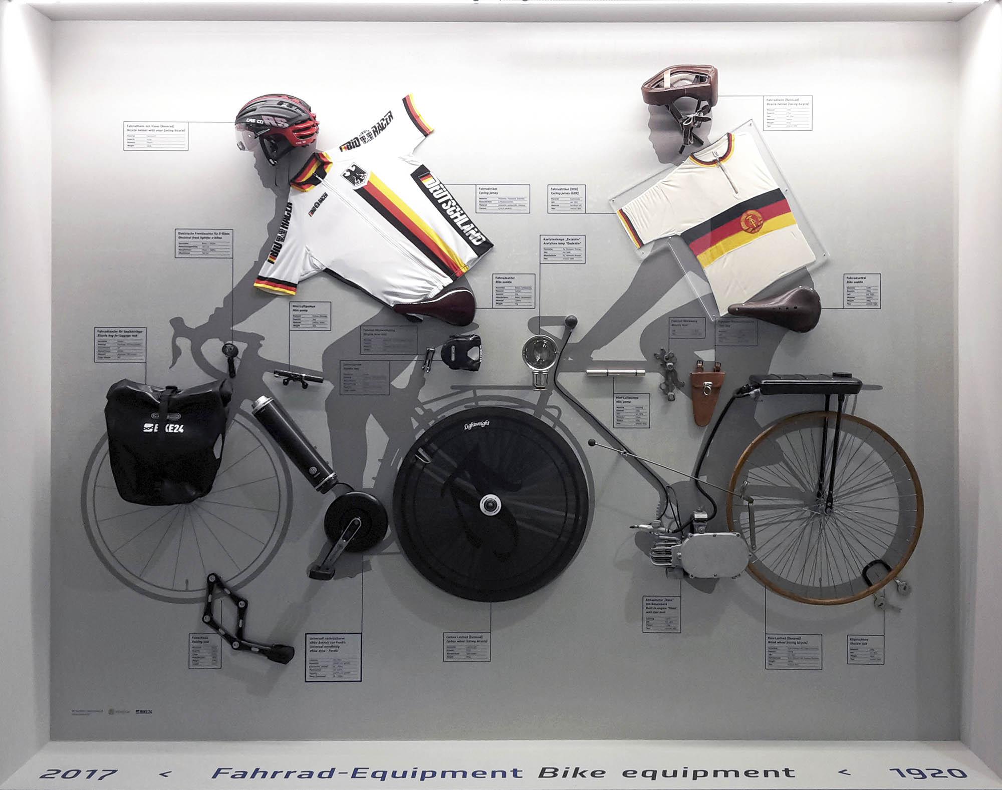 Ich.Fahr.Rad – Fahrradgeschichte(n),  Foto: Verkehrsmuseum Dresden/Kristin Hunka