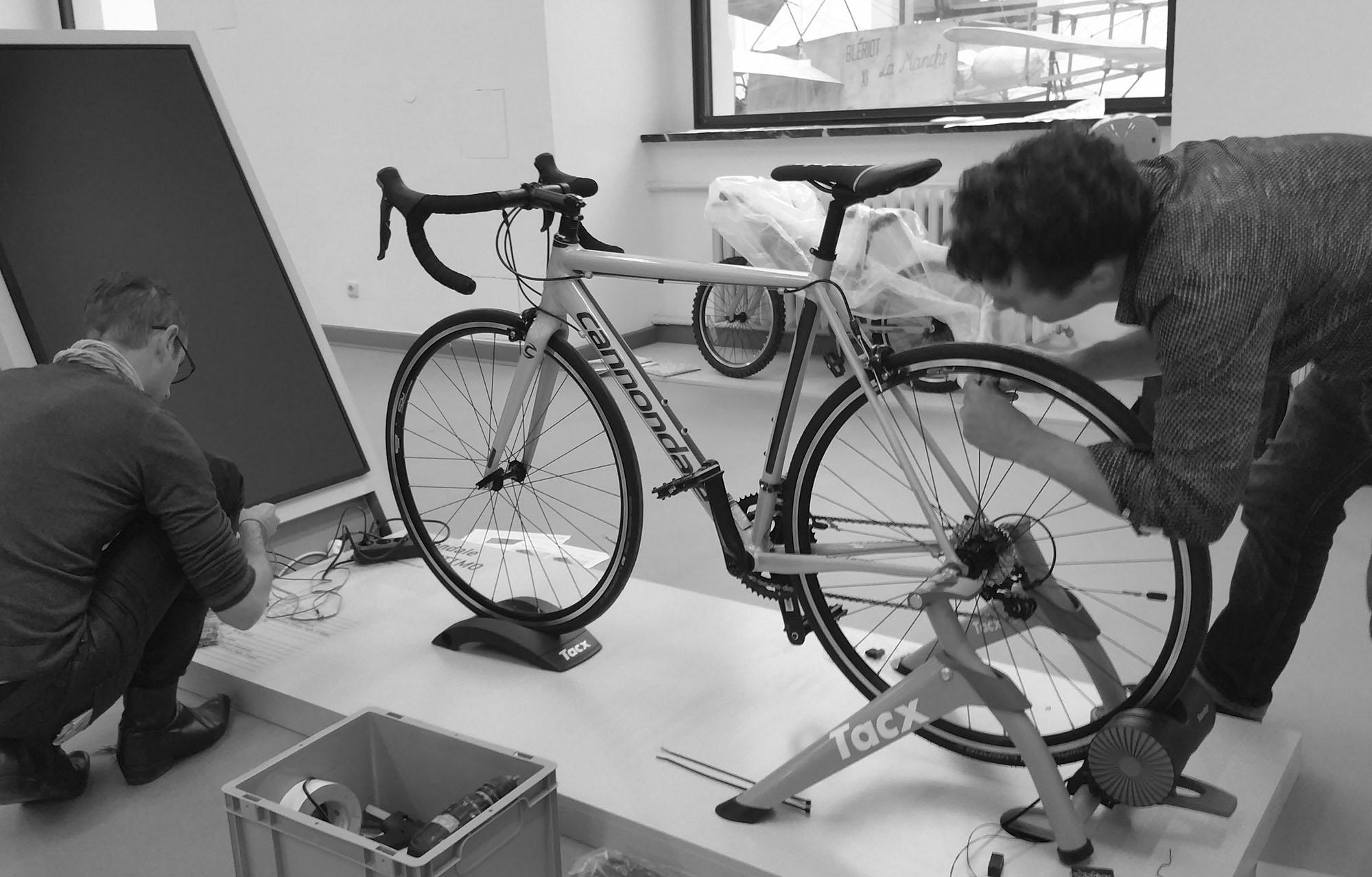 Ich.Fahr.Rad – Fahrradgeschichte(n),  Foto: Matthias Zänsler