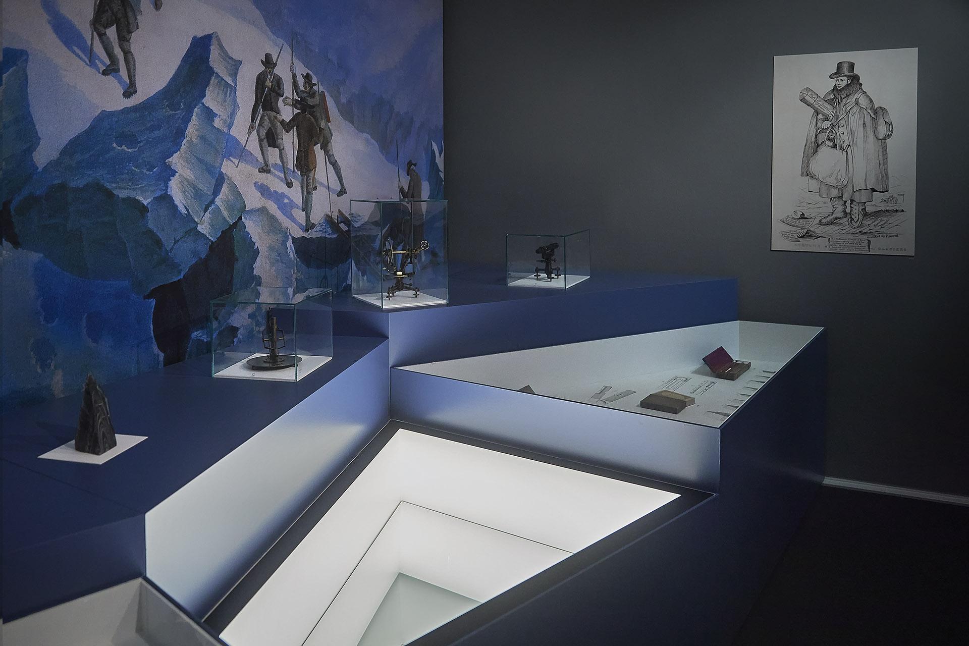 Raum 5, Im Steinbruch der Zeit, Formikat, Foto: Marco Warmuth